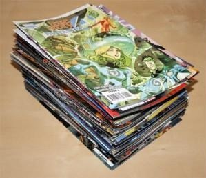 Ship comic books